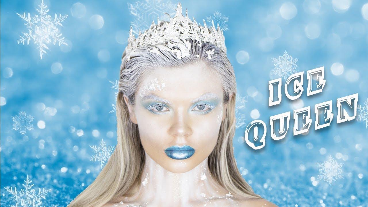 ice queen makeup tutorial
