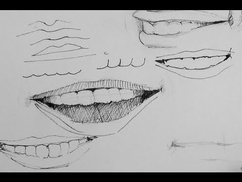 ink pen drawing tutorial
