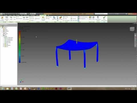 inventor stress analysis tutorial