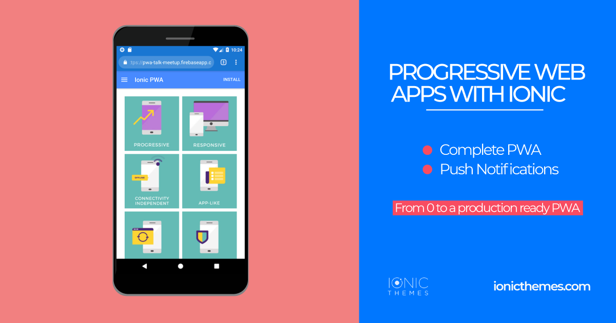 ionic progressive web app tutorial