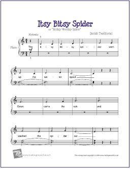 itsy bitsy spider ukulele tutorial