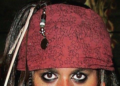 jack sparrow makeup tutorial