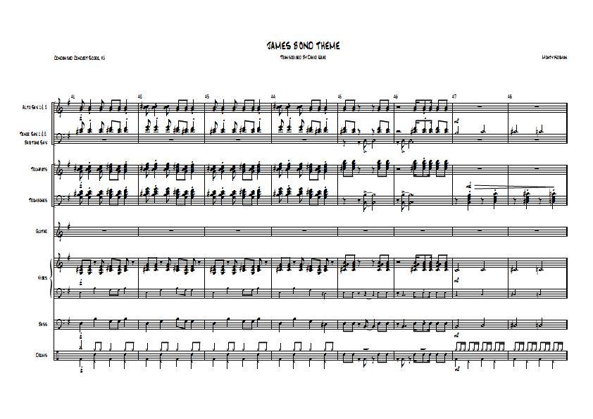 james bond theme song piano tutorial