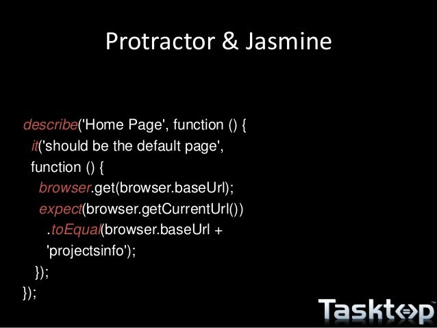 jasmine node js tutorial
