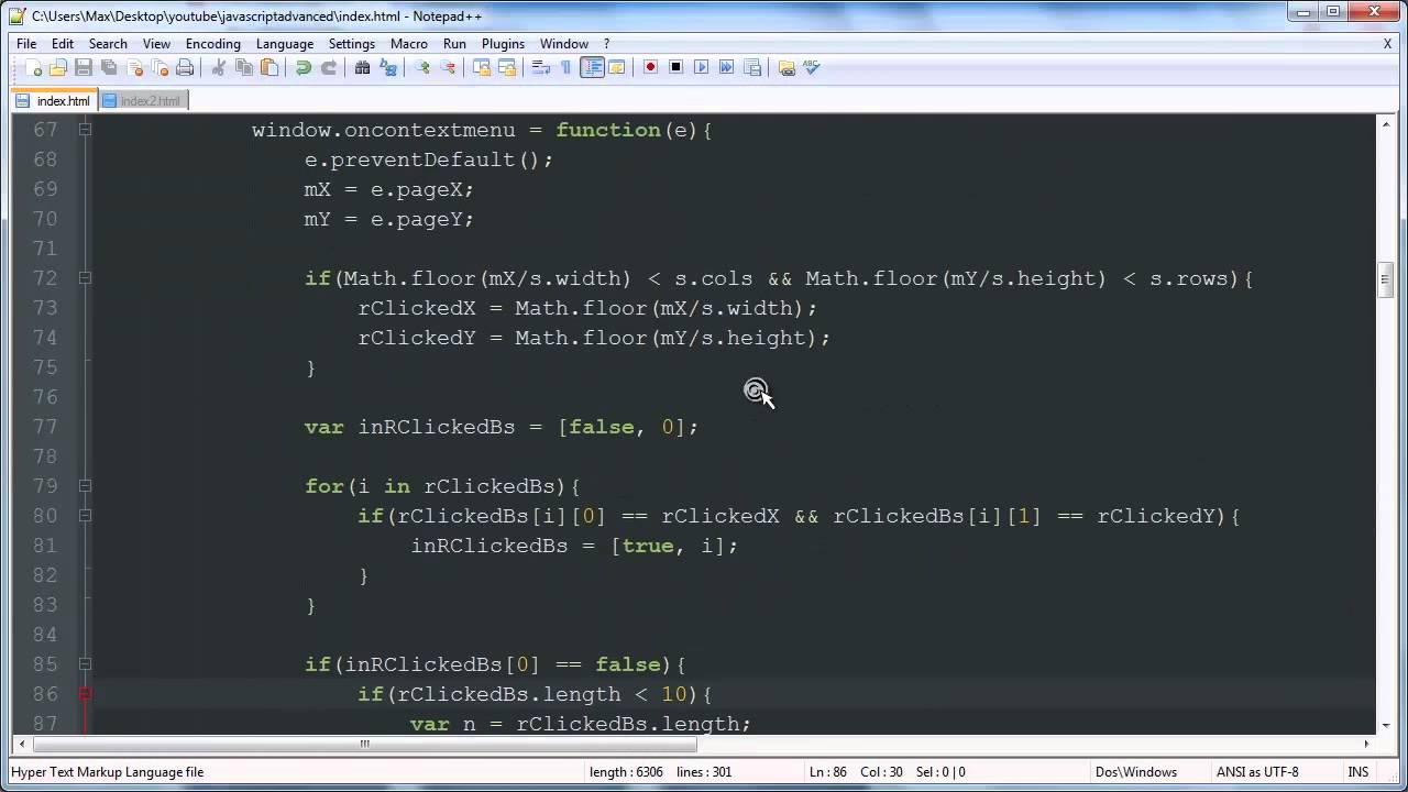 javascript game development tutorial