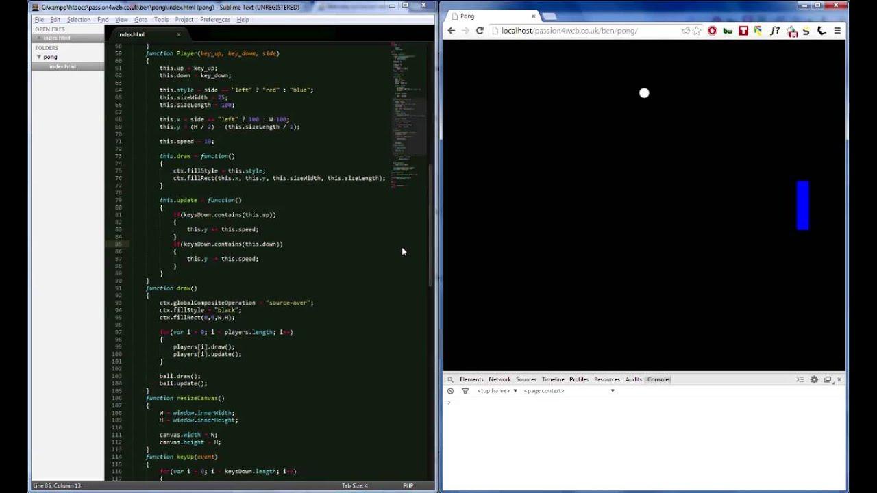 javascript game programming tutorial