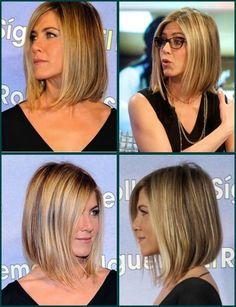jennifer aniston haircut tutorial