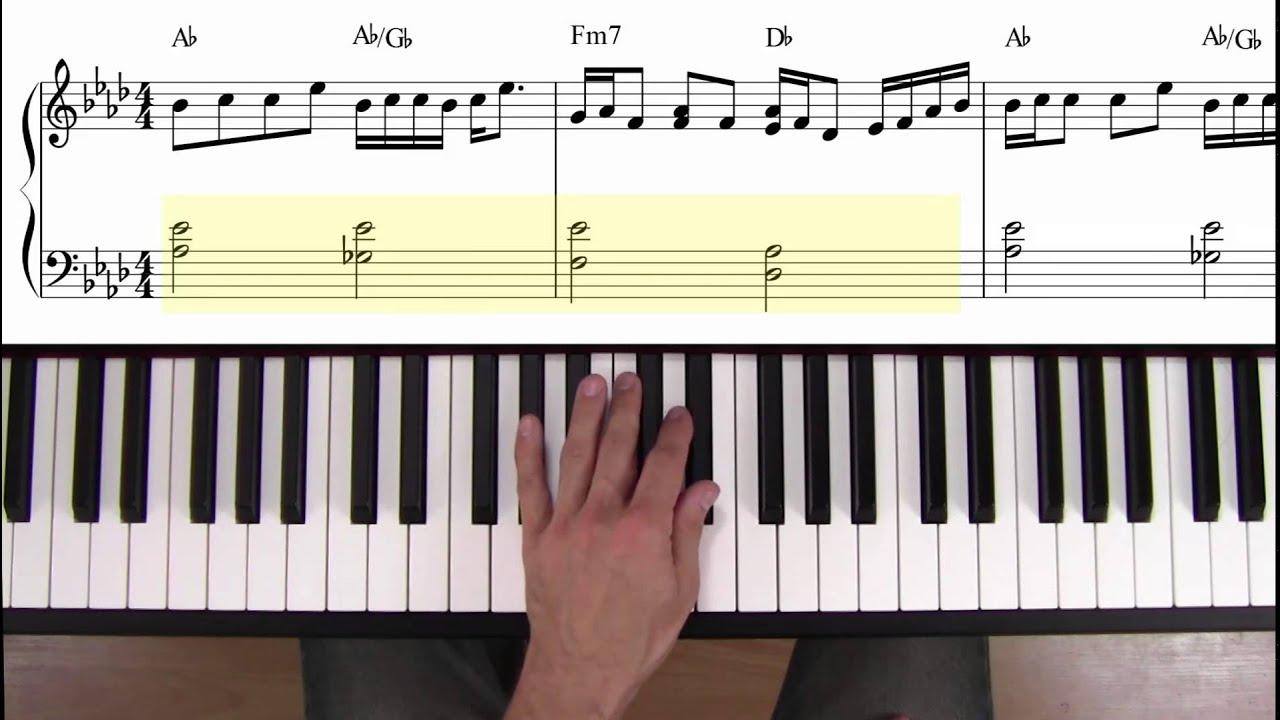 joe cocker you are so beautiful piano tutorial