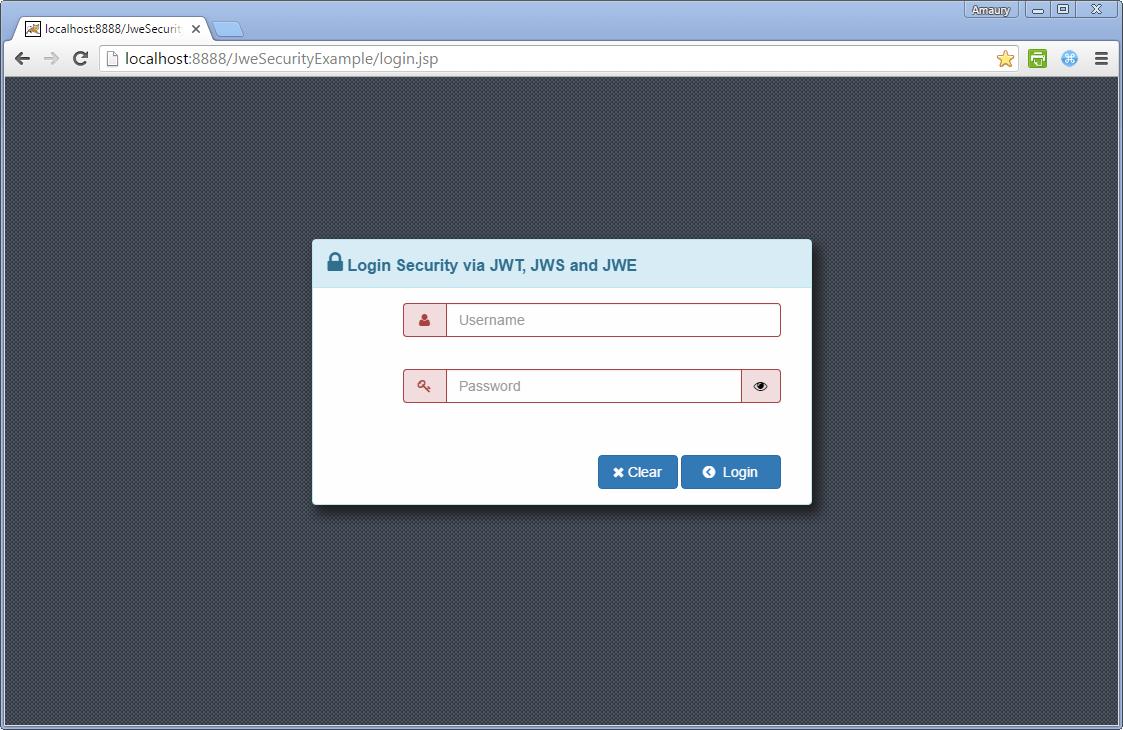 json web token java tutorial