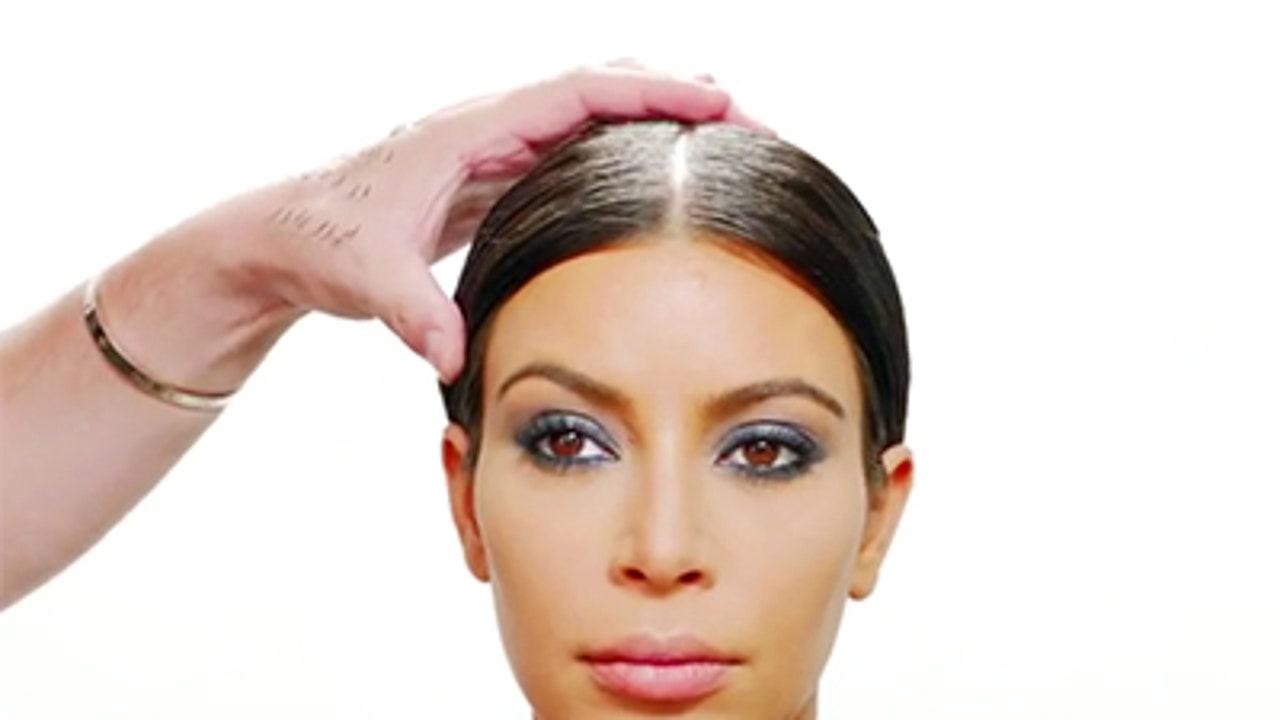 kim kardashian eyelashes tutorial