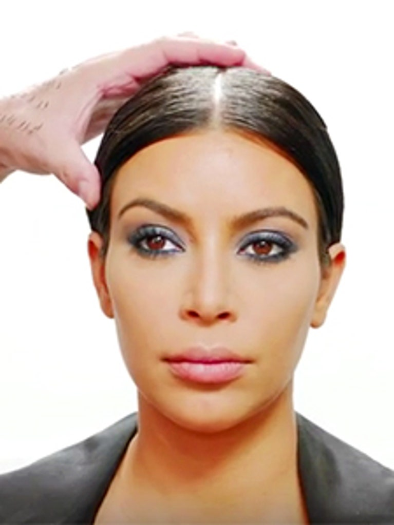 kim kardashian lashes tutorial