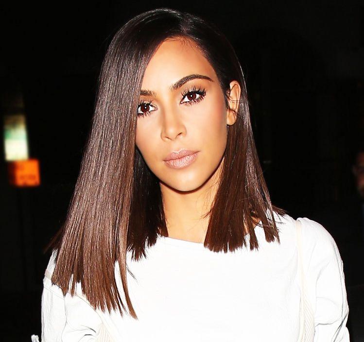 kim kardashian short hair tutorial