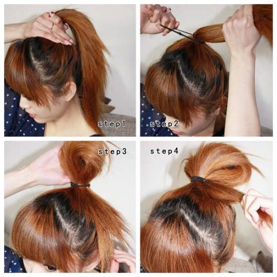 korean male hairstyle tutorial