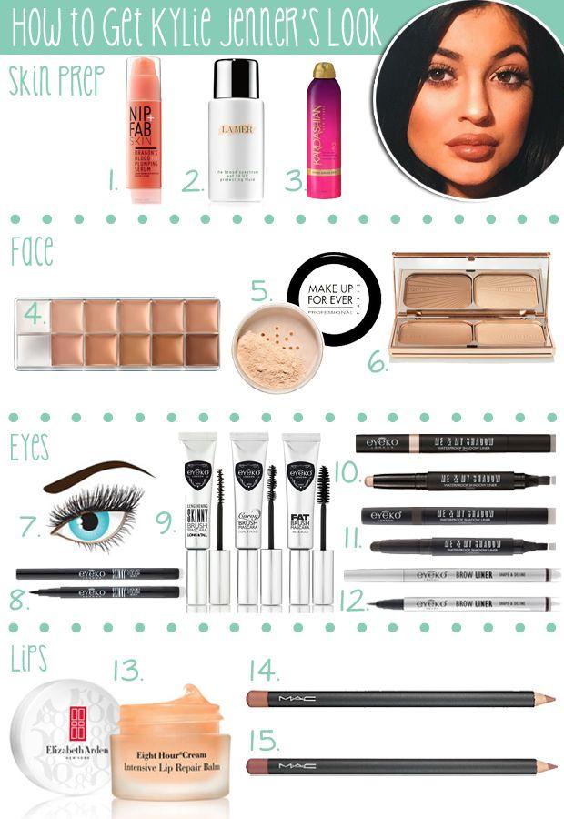 kylie jenner eyeliner tutorial