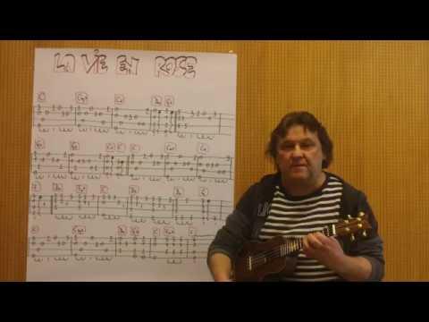 la vie en rose ukulele tutorial