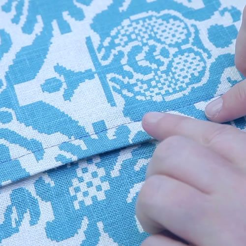 lapped zipper pillow tutorial