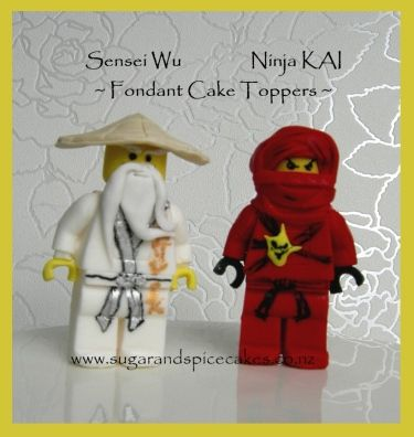 lego ninjago cake tutorial