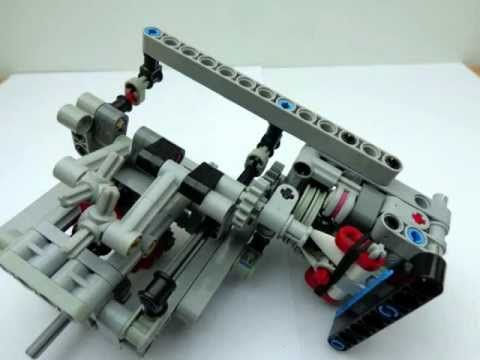 lego technic gears tutorial