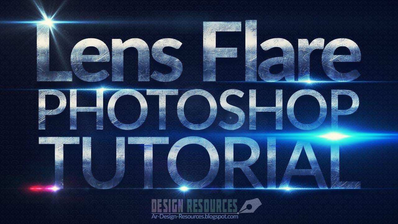lens flare photoshop tutorial