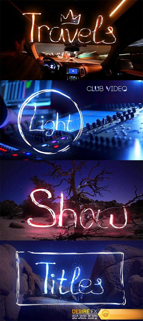 light trails after effects tutorial