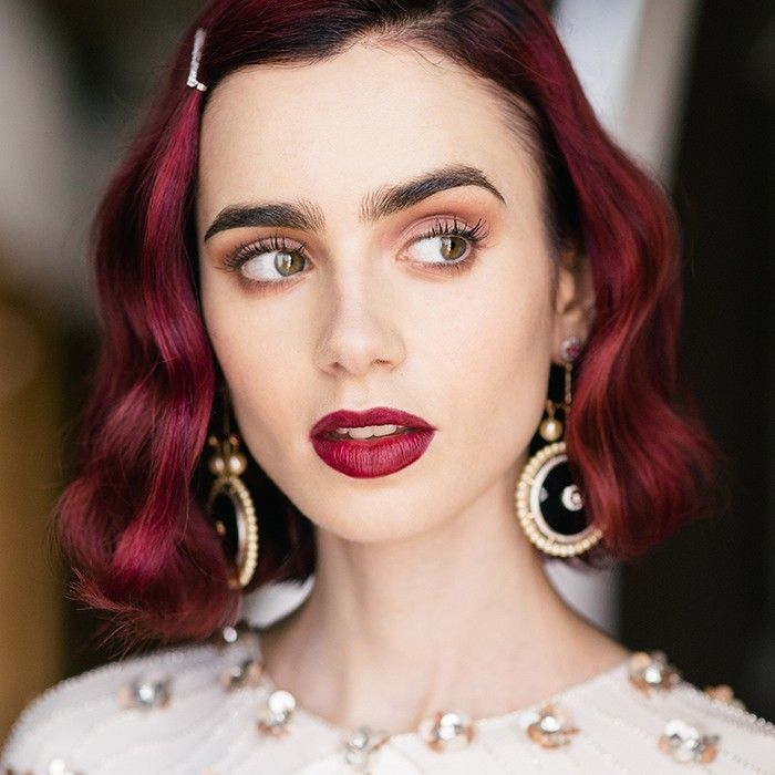 lily collins makeup tutorial