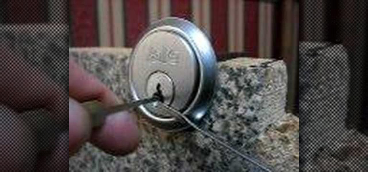 lock picking video tutorial