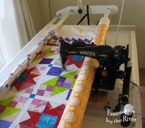 long arm machine quilting tutorial