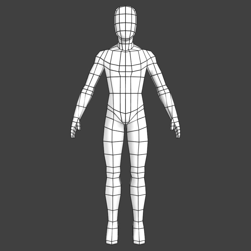 low poly character modeling tutorial