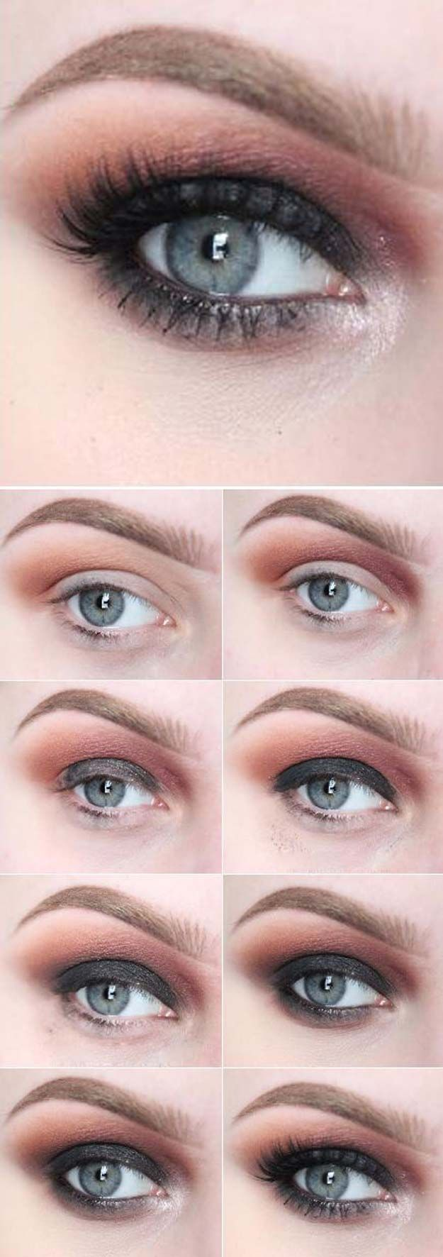 makeup tutorial for blondes with green eyes