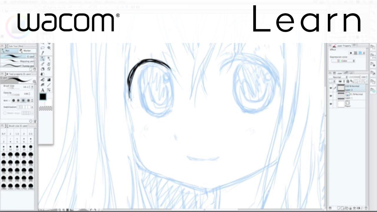 manga studio inking tutorial