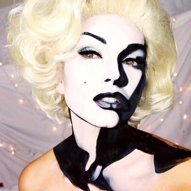 marilyn monroe eye makeup tutorial