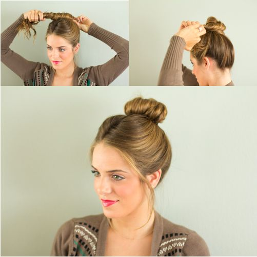 mary poppins hair tutorial