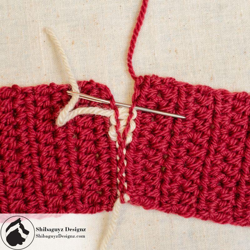 mattress stitch knitting tutorial