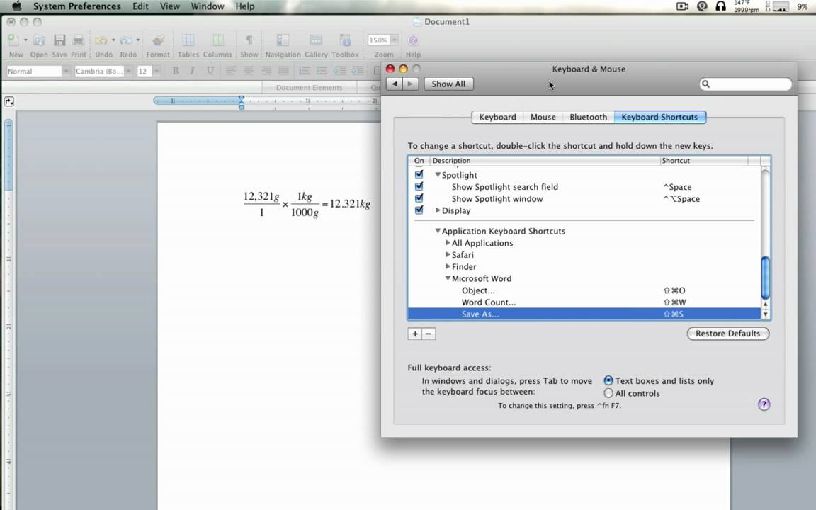 microsoft word for mac tutorial video