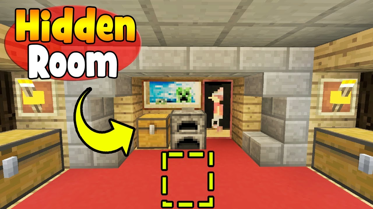 minecraft hidden house tutorial