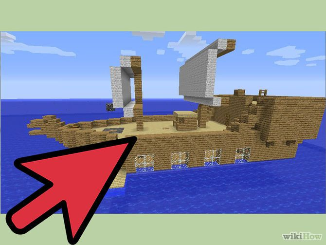 minecraft how to build a boat tutorial