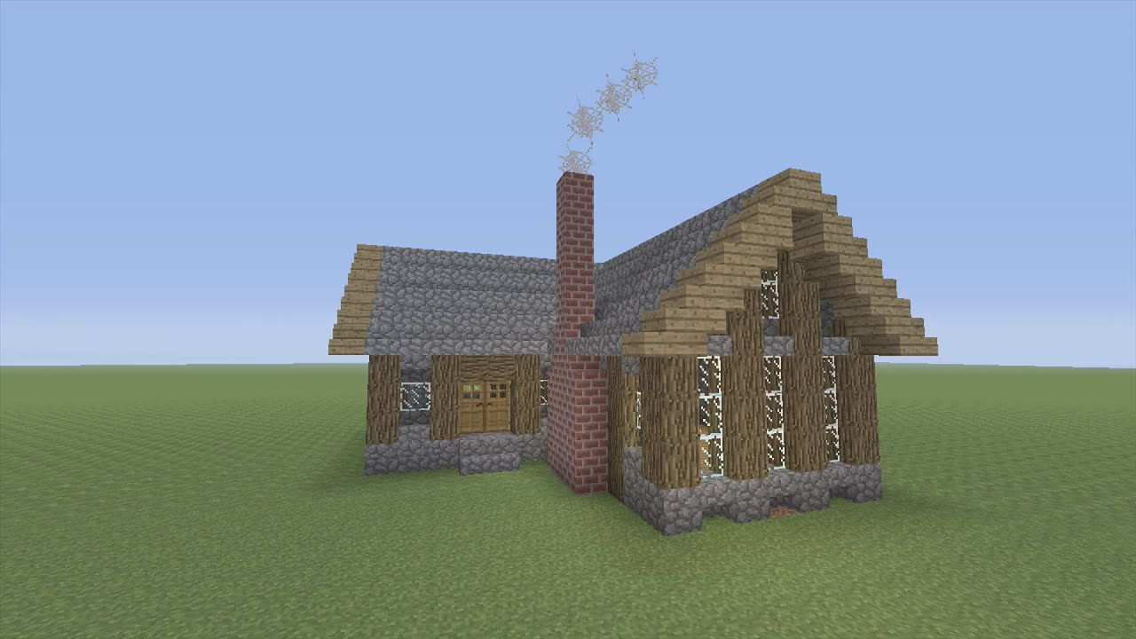 minecraft pe treehouse tutorial