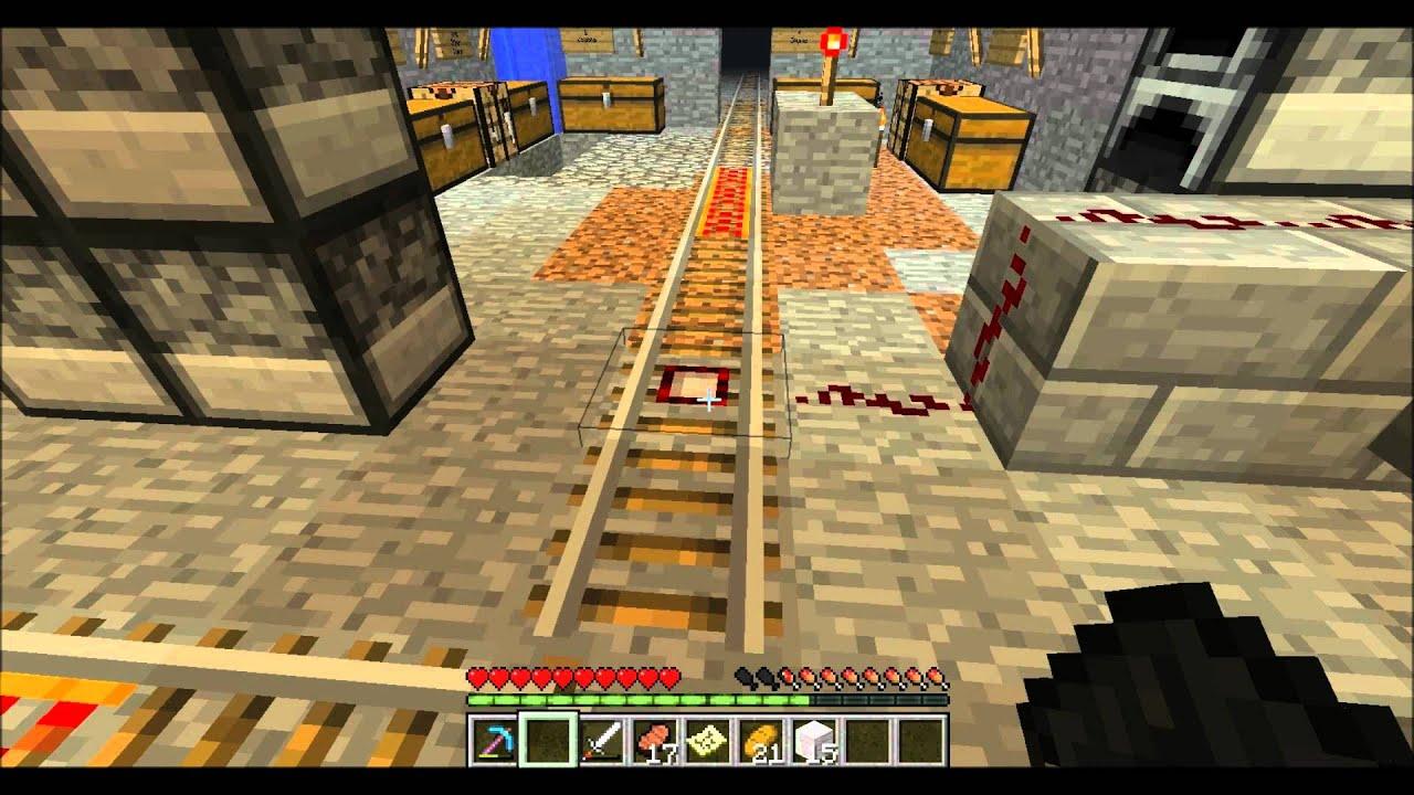 minecraft rail switch tutorial