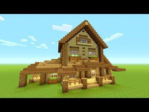minecraft survival mansion tutorial