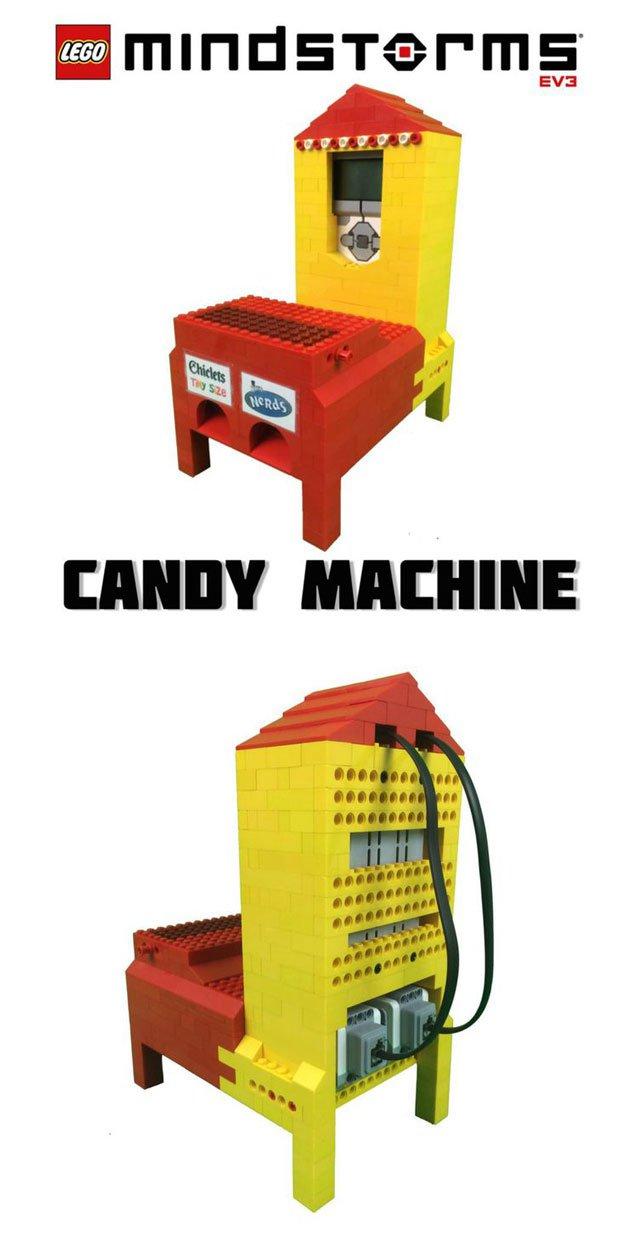 mini lego candy machine tutorial