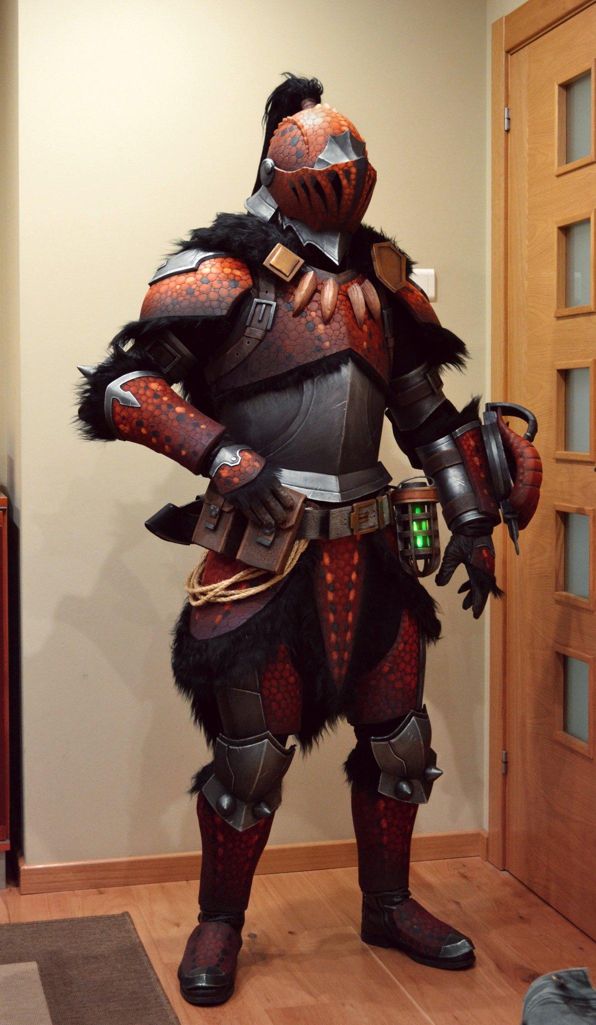monster hunter cosplay tutorial