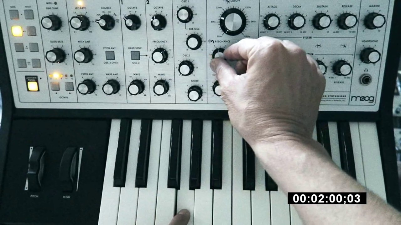 moog sub phatty tutorial