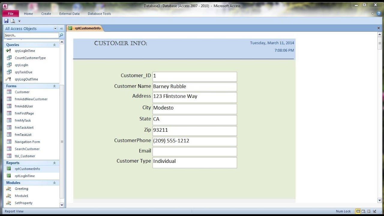 ms access tutorial pdf