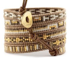 multi row wrap bracelet tutorial
