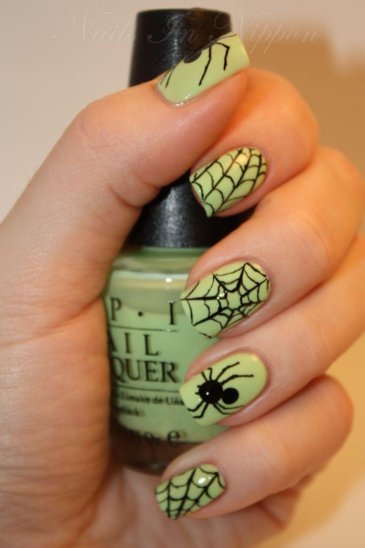 nail art halloween tutorial
