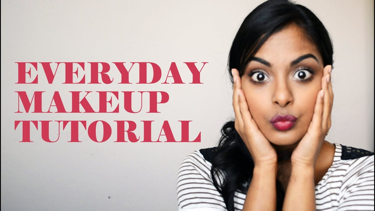 natural everyday makeup tutorial for school
