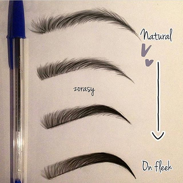 natural eyebrow tutorial with pencil