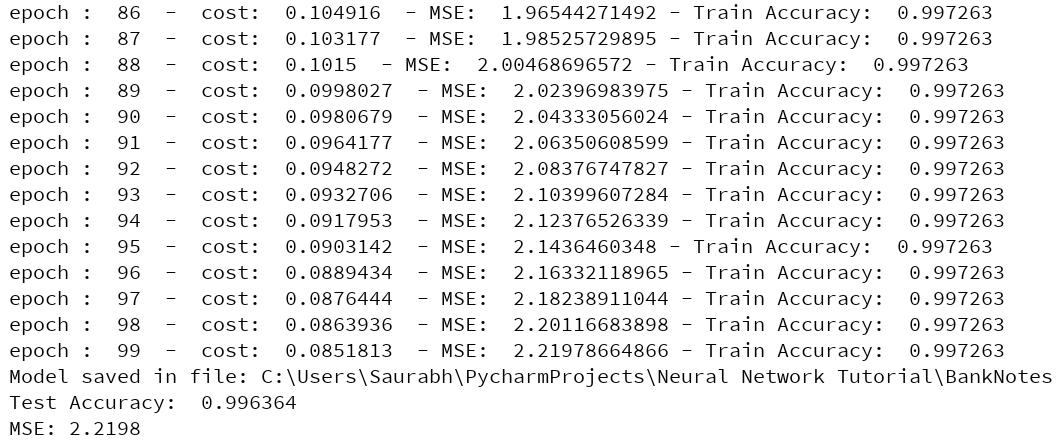 neural network ai tutorial