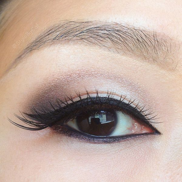 neutral eye makeup tutorial for brown eyes