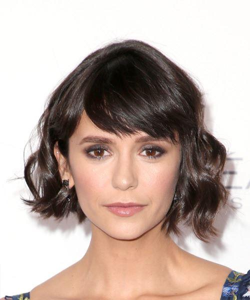 nina dobrev short hair tutorial